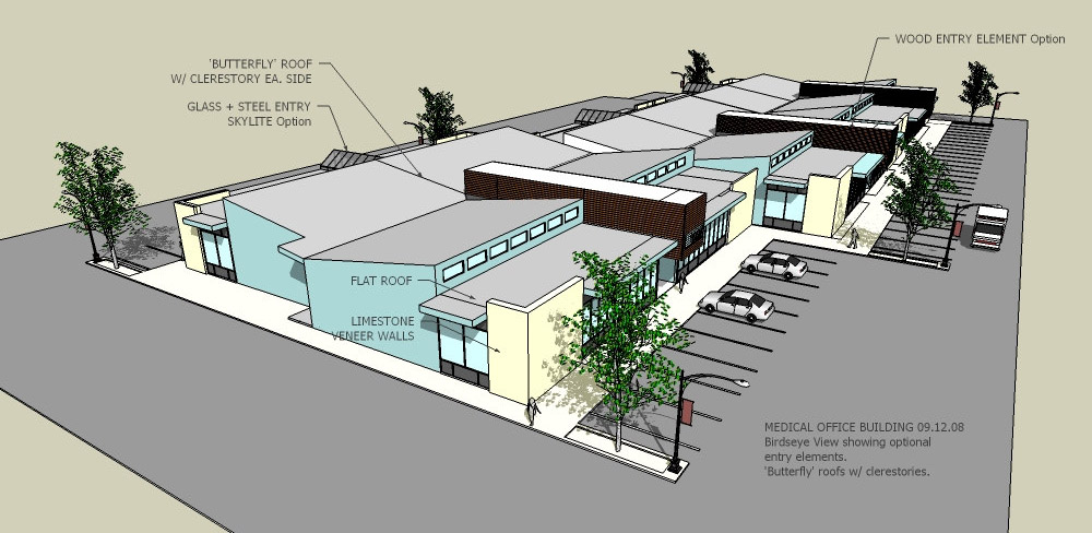 Medical evstudio architecture engineering planning for Single story commercial building design