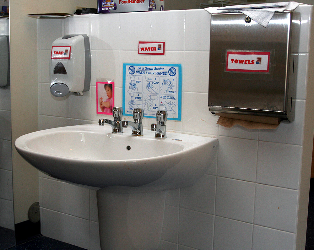School Bathroom Sinks : fisher-sink1