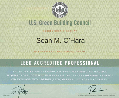 LEED Certified Buildings and Accredited Professionals — EVstudio ...