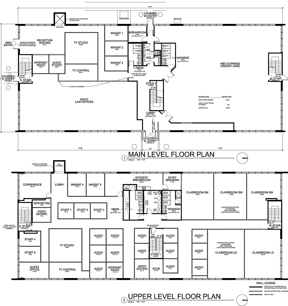 Architecture school floor plan thefloors co for Architectural design floor plans