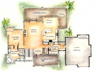 A Speculative Floor Plan To Appeal To A Larger Market