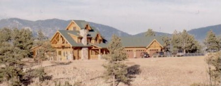 Schuler Residence in Lake George, CO
