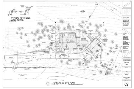 "Site Plan for ""Ptarmigan Roost"" in Discovery Hill"
