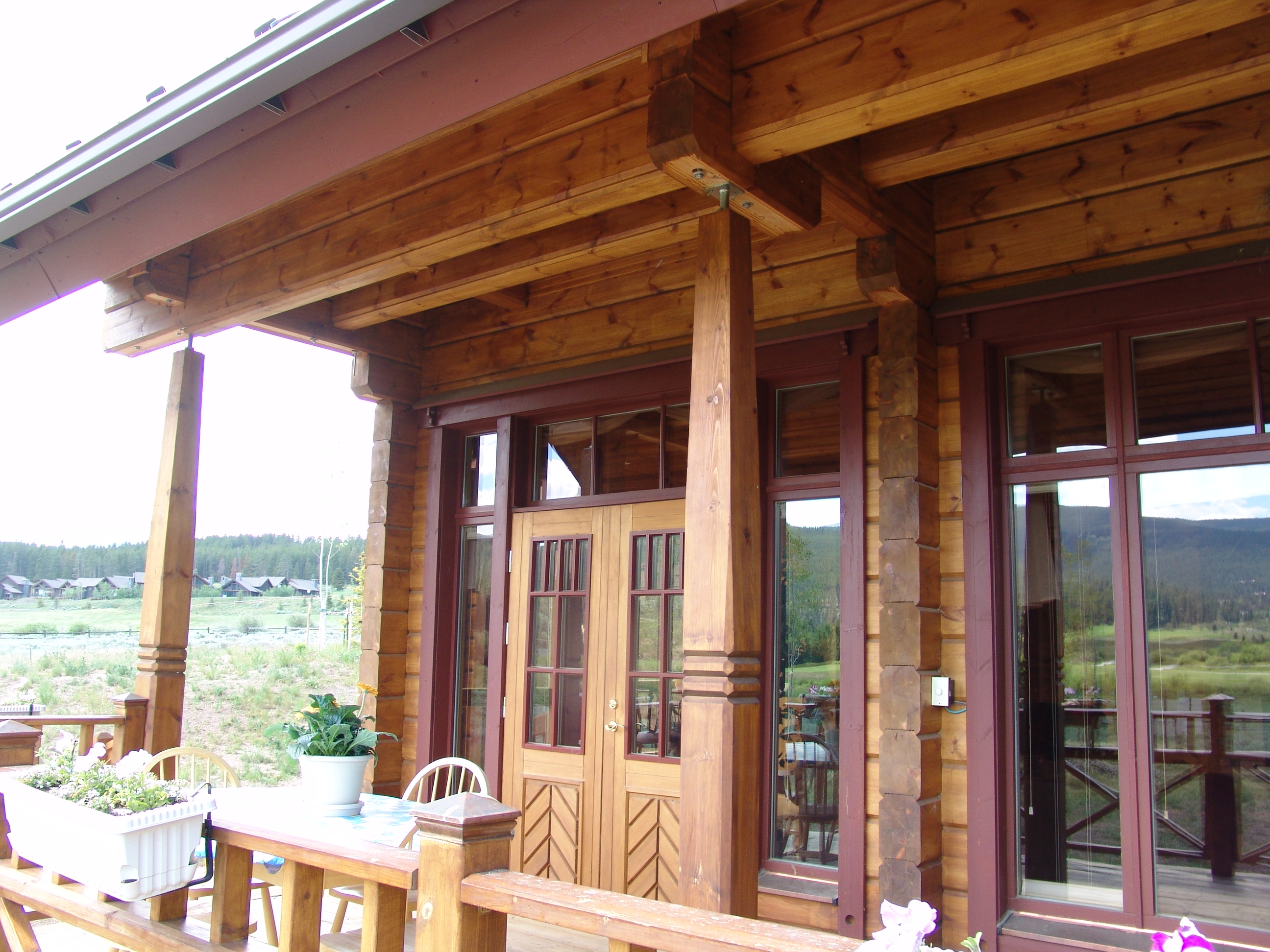 Honka Log Home in The Highlands