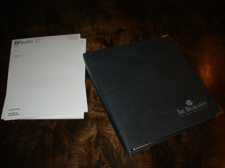 Design Guidelines notebook - Take a lot of notes!!