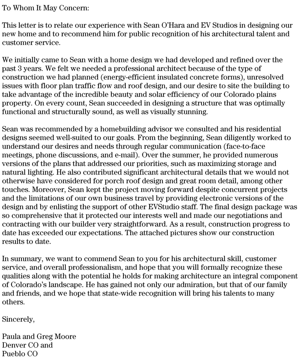 Great Letter Of Recommendation  BareBearsbackyardCo