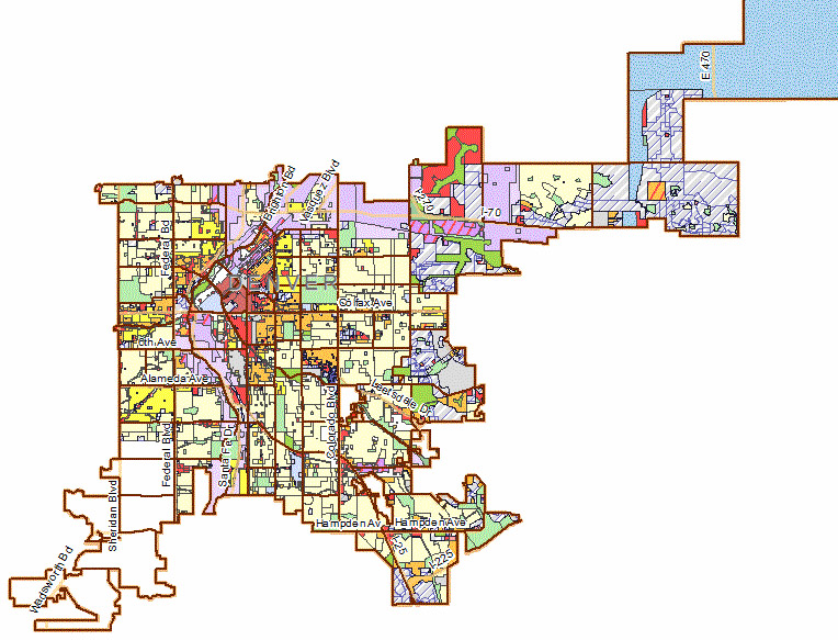 Denver Zoning Map EVstudio Course on Understanding the New Denver Zoning Code