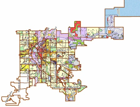Denver Zoning Map Image